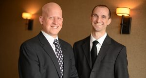 Attorneys Grant A. Posner AND John J. Cord say that while sharing space in Timonium they discovered their compatible styles made forming a new firm a good idea. (The Daily Record/Maximilian Franz)