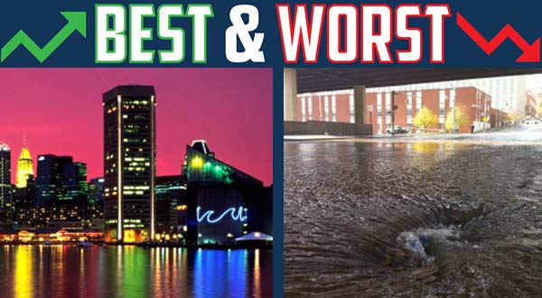 Bad week for water pipes, good week for Baltimore's image