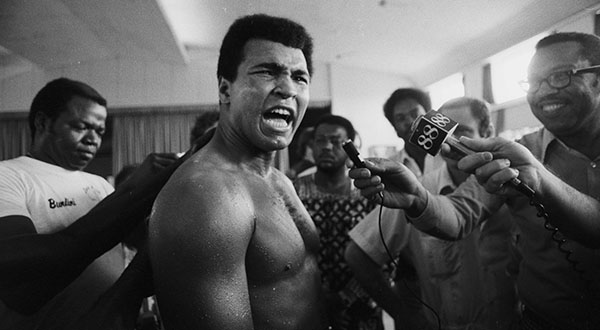Muhammad Ali, courtesy of Authentic Brand Groups.