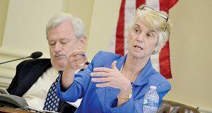 The report from a task force led by former Lt. Gov. Kathleen Kennedy Townsend and state Sen. James C. Rosapepe is to be released Tuesday. (The Daily Record/Bryan P. Sears)