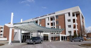 Carroll Hospital Center in Westminster, Md. (The Daily Record/Maximilian Franz)