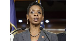 Rep. Donna Edwards, D-Md. speaks on Capitol Hill in Washington. AP Photo/J. Scott Applewhite, File)