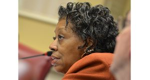 Sen. Joan Carter Conway, D-Baltimore City and chairwoman of the Senate Education, Health and Environmental Affairs Committee, has been an ardent foe of a measure to impose stricter liability standards on fracking. (File photo)