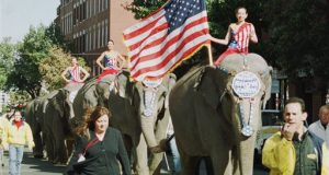 Ringling Bros. phasing out elephant acts by 2018