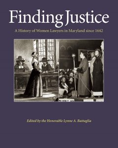 The cover of Finding Justice.
