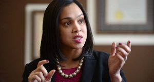 Baltimore State's Attorney Marilyn Mosby. (The Daily Record / Maximilian Franz)
