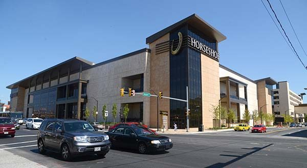 Owners of the Horseshoe Casino have been given approval to add off-track-betting to the facility, and they're having a soft launch Saturday. (The Daily Record / Maximilian Franz)