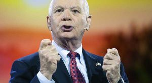 In this March 1, 2015, file photo, Sen. Ben Cardin, D-Md., speaks during at the American Israel Public Affairs Committee (AIPAC) Policy Conference in Washington. Cardin says it's in his DNA to be the Democrats' top Senate negotiator on Iran, a role he'll play next week when the Foreign Relations Committee opens difficult hearings on the issue. (AP Photo/Cliff Owen, File)