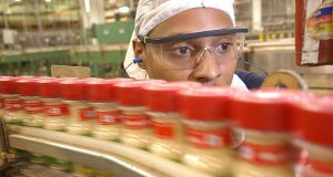 Andrew Hare, Production Crew Leader at the McCormick Manufacturing Plant in Cockeysville. (FILE)