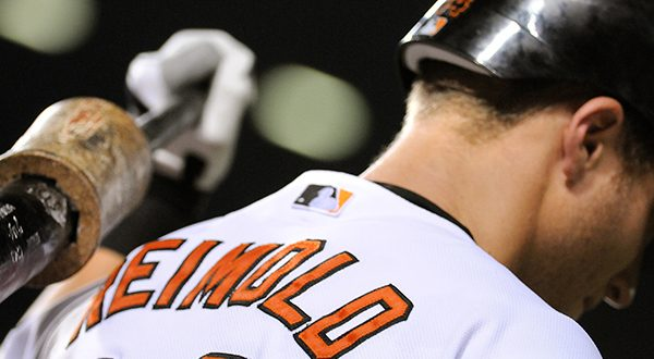 The Orioles' Nolan Reimold learned earlier this month that he was being reassigned to the team's minor league camp. (The Daily Record/Maximilian Franz/File Photo)
