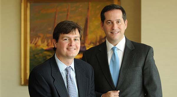 Charles Curlett, left, and Steven Levin, attorneys at Levin & Curlett, LLC.  (File)