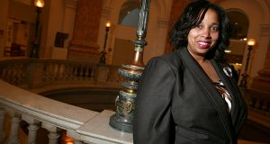 Baltimore City Councilwoman Belinda K. Conaway in city hall in 2010. (File)