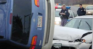 A 2001 accident in Owings Mills. (File)