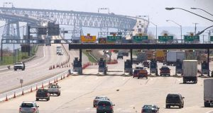 The toll plaza at the Chesapeake Bay Bridge.(File photo)