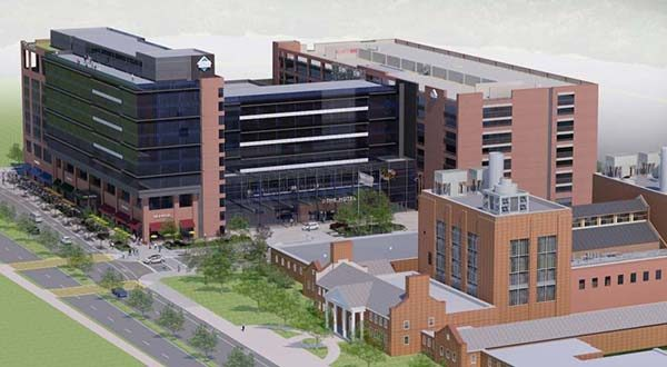 A Rendering Of The Hotel At University Maryland Southern Management