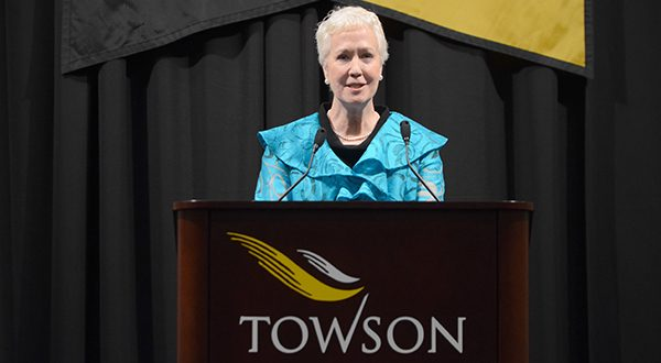 Former Towson University President Maravene Loeschke passed away Tuesday of complications from cancer at the Gilchrist Hospice Care in Towson, the university said. She was 68. (The Daily Record/Maximilian Franz)