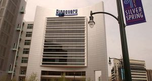 Discovery Communications Headquarters in Silver Spring. (The Daily Record /Maximilian Franz)