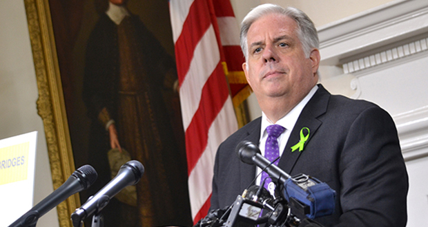 Gov. Larry Hogan (File Bryan P. Sears/The Daily Record)