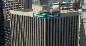 Candace McCollin's lawsuit alleges that M&T Bank — which had 17 additional vacant branch manager or assistant branch manager positions in the Baltimore area between July and October 2013 — violated the Americans with Disabilities Act by failing to reassign her and firing her due to her disability. (File photo)