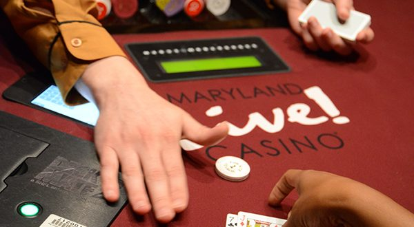 Maryland Live! Casino at Arundel Mills. (Maximilian Franz/The Daily Record)