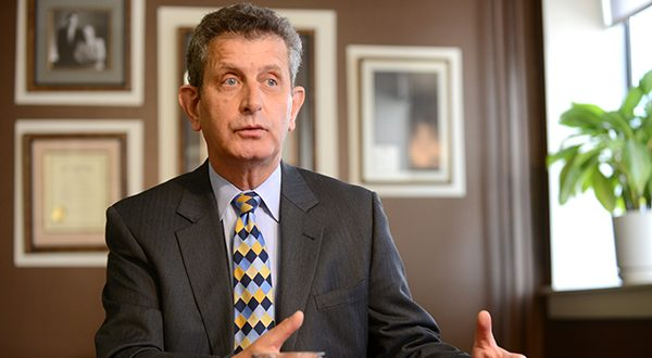 John Colmers, the chairman of the Health Services Cost Review Commission, said Wednesday that in a different, less cooperative environment the shift to a global-payer system to raise hospital revenues might not have worked. (Maximilian Franz/The Daily Record)