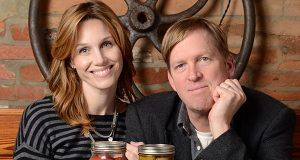Spike and Amy Gjerde, owners of Woodberry Kitchen, in 2012. (Maximilian Franz/The Daily Record / FILE)