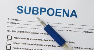New subpoena forms are coming! New subpoena forms are coming!