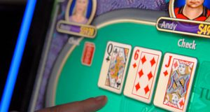 Video poker and other games are not illegal – but it is against the law when the devices pay out winnings. (File photo)