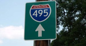 """(Flickr / William F. Yurasko / """"I-495 sign"""" / CC BY 2.0 / cropped and resized)"""