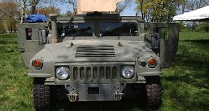A vehicle at Aberdeen Proving Ground, which is set to lose 126 soldiers due to planned staffing cuts.(File)