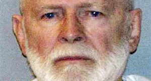 """This file June 23, 2011 booking photo provided by the U.S. Marshals Service shows James """"Whitey"""" Bulger, captured in Santa Monica, Calif., after 16 years on the run. Bulger was convicted in a Boston federal court in August 2013 on a broad indictment that included racketeering charges in a string of murders in the 1970s and '80s, as well as extortion, money-laundering and weapons charges. A federal appeals court in Boston heard arguments Monday, July 27, 2015 on his bid to overturn his racketeering conviction. Bulger was not present for the proceedings.  (AP Photo/U.S. Marshals Service, File)"""