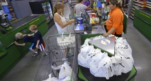 Retail sales fall in June as consumers stay cautious