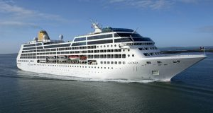 Starting in May 2016, Carnival Corp., plans to offer trips from Miami to Cuba, aboard the 710-passenger ship Adonia the company announced Tuesday. The trips will be through its new brand, fathom, which focuses on trips where passengers sail to a destination in order to volunteer there. The week-long cruises will be aboard the Adonia, which had previously been part of the company's United Kingdom brand, P&O Cruises. (Carnival Corporation via AP, File)