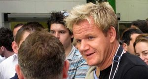 """Gordon Ramsay, seen here in a 2008 photo, and the crew of """"Hotel Hell,"""" which was renewed for a third season, are looking for businesses to fix. (Flickr /Leon Brocard / """"IMG_4286"""" / CC BY 2.0 / Cropped and resized)"""