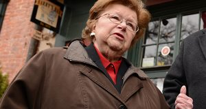 U.S. Sen. Barbara Mikulski. (The Daily Record / Maximilian Franz)