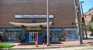 Planned Parenthood on Howard Street in Baltimore (The Daily Record / Maximilian Franz)
