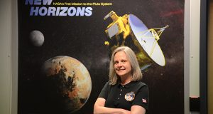 Alice Bowman,  New Horizons Mission Operations Manager and group supervisor of the Space Department's Space Mission Operations Group at the Johns Hopkins Applied Physics Laboratory. (The Daily Record/Maximilian Franz)
