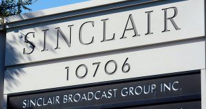 Hunt Valley-based Sinclair Broadcast Group is one of the largest TV broadcasting companies in the U.S., owning local stations affiliated with all the major networks.  (Photo by William Thomas Cain/Getty Images)
