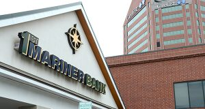 1st Mariner bank. (Maximilian Franz / The Daily Record)
