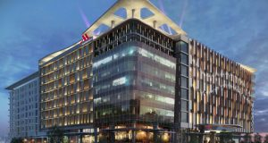 Marriott International, Africa's largest hotel operator, announces an agreement to develop the Johannesburg Marriott Hotel Melrose Arch and Marriott Executive Apartments Johannesburg Melrose Arch, in partnership with The Amdec Group (PRNewsFoto/Marriott International, Inc.)