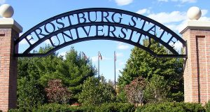 "(Flickr/Javcon117*/""Frostburg State University Arch Entryway""/CC by 2.0/cropped and resized)"