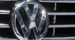 Volkswagen has   admitted that it intentionally installed software programmed to switch engines to a cleaner mode during official emissions testing.  The software then switches off again, enabling cars to drive more powerfully on the road while emitting as much as 40 times the legal pollution limit. (AP Photo/Michael Probst)