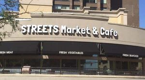 Streets Market, on the corner of Saratoga and Charles streets in Baltimore, held a soft opening on Friday. (The Daily Record / Anamika Roy)