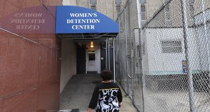 The Women's Prison Building at the Baltimore City Detention Center. The family of a former detainee has filed a $10 million wrongful death lawsuit, alleging employees ignored signs the detainee had suffered multiple strokes and denied her medical attention. (Maximilian Franz)