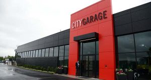 City Garage. (The Daily Record / Maximilian Franz)