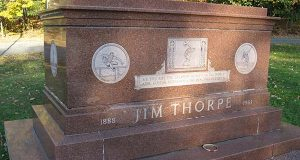 Justices reject appeal from Jim Thorpe's sons over reburial