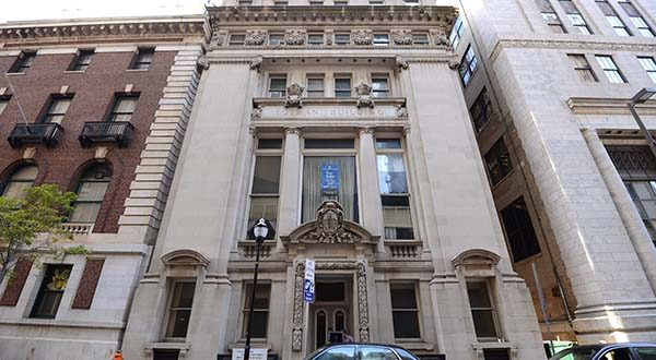 The former Baltimore Stock Exchange Building, now known as the Totman Building, will be converted into a mix of apartments and commercial space. (The Daily Record / Maximilian Franz)