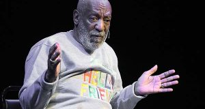 In this Friday, Nov. 21, 2014, file photo, comedian Bill Cosby performs at the Maxwell C. King Center for the Performing Arts, in Melbourne, Fla.  (AP Photo/Phelan M. Ebenhack, File)