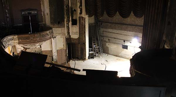 Inside the Parkway Theatre. (The Daily Record / Maximilian Franz)
