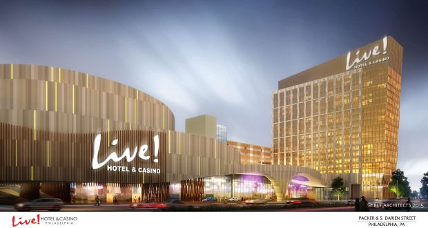 Concept photo of a new casino resort to be built in Philadelphia by the Cordish Companies. (submitted photo)